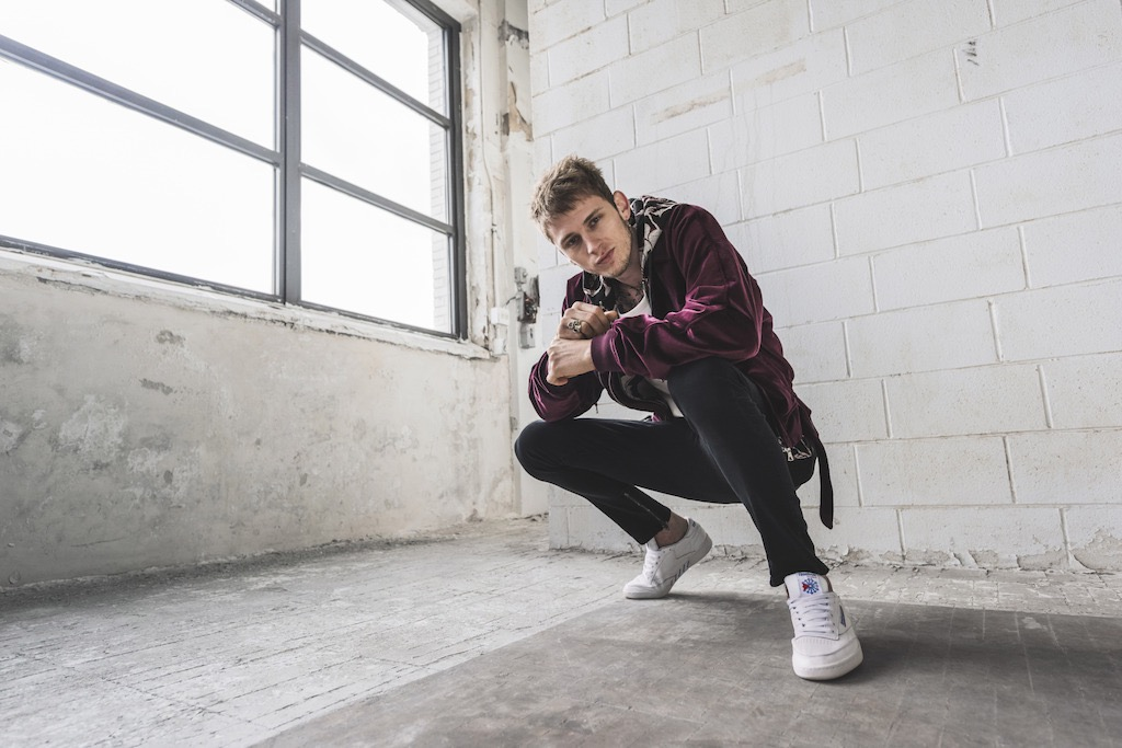 """edf893ef497 """"We re very honored to welcome Machine Gun Kelly to the Reebok family this  year"""