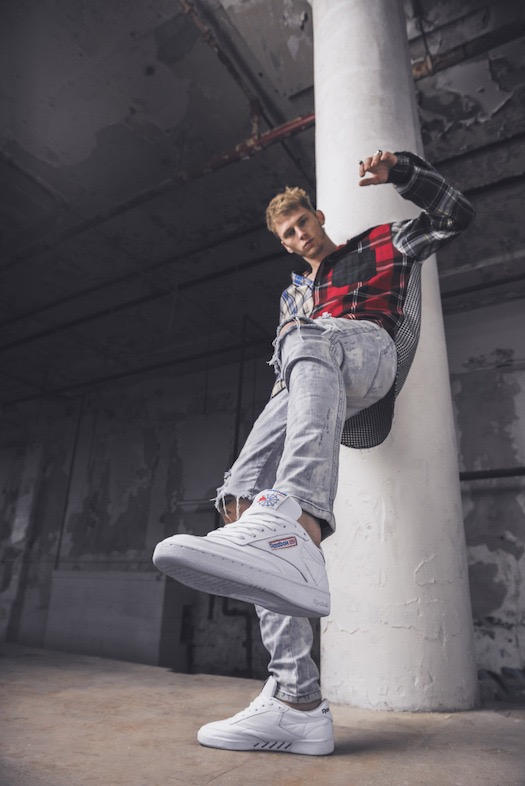 """""""We re very honored to welcome Machine Gun Kelly to the Reebok family this  year 9394fbfa7"""