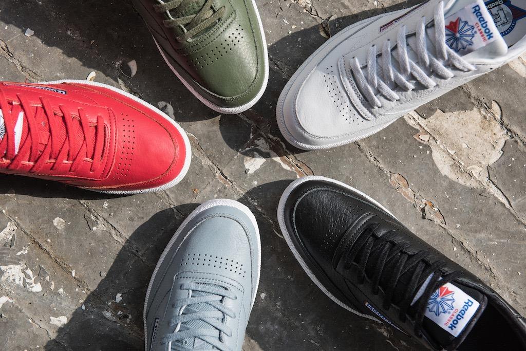 Machine Gun Kelly to Front New Club C Sneaker Campaign Reebok Classic ... f150d638f